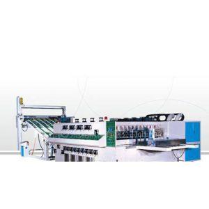供应自动高速水性印刷开槽模切机