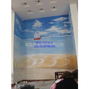 供应南昌电视机背景墙彩绘.最专业最值得信赖的手绘墙专家