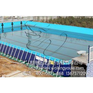 供应厂家供应优质支架游泳池 移动水池 移动平台游泳池