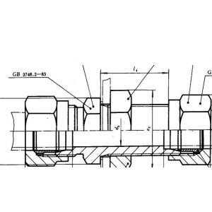 供应JB 3878.8-85插入焊接式管接头