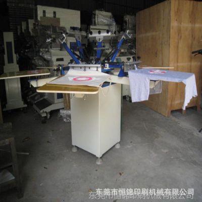 东莞恒锦创个性T恤印花机/成衣丝网印刷机械 18922525913