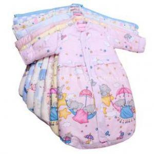 供应龙之涵宝宝睡袋 竹纤维里衬可脱卸内胆 儿童睡袋 四季可用