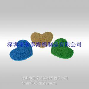 供应异形冲切木浆棉,动物形状清洗木浆棉加工厂