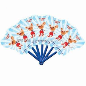 陕西西安广告扇 扇子定做  西安礼品公司