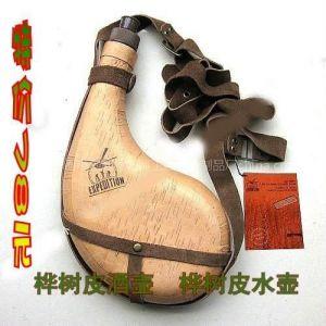 新品上市!旅游用品水壶 桦树皮工艺品水壶 个性产品创意 精品