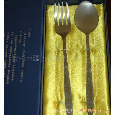 携带方便又健康的钛制餐具,钛叉,钛勺