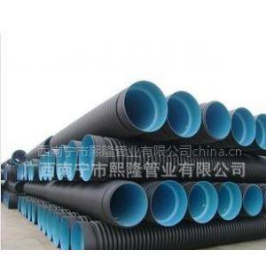 广西南宁厂家直销HDPE双壁波纹管,保质量,信得过的产品!