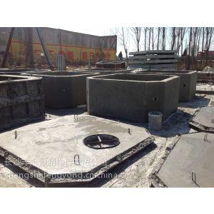 供应混凝土检查井砌块 成品混凝土化粪池 钢纤维检查井盖板