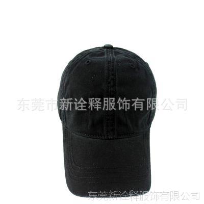帽子订做 帽子制造商时尚棒球帽 外贸帽子定做 洗水成人帽