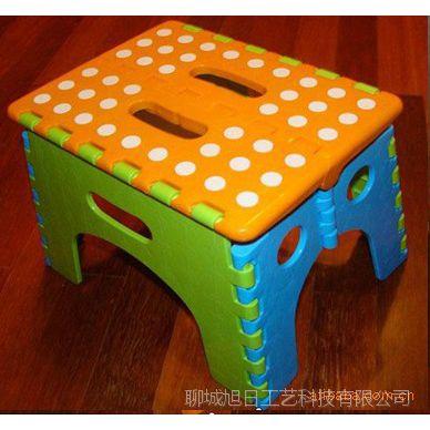 供应便携折叠塑料凳子 彩色凳子 质量保证 抗压