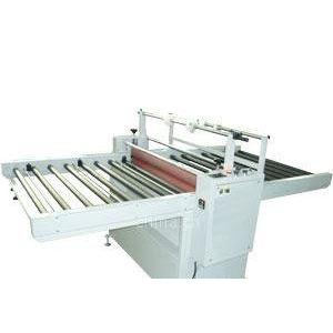 供应晶钢玻璃橱柜门加热自动收料覆膜机