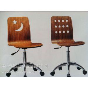 供应供应广东沃尔美快餐桌弯板 快餐桌背板加工 弯曲木家具加工