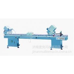供应塑钢门窗机械BLJZ2-400×3500 铝塑型材双头双角锯 (平推锯)