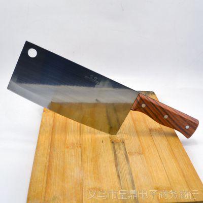 出口外贸厨房用具菜刀 不锈钢切片刀 厨用刀 阳江刀具  切菜切肉