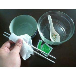 """供应餐具消毒——我选""""洁の良品 餐具清洁纸"""""""