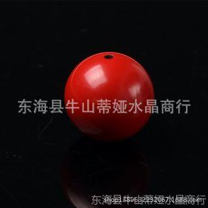 供应DIY饰品配件 台湾朱砂系列 纯正天然原色朱砂 4mm~18mm圆珠批发