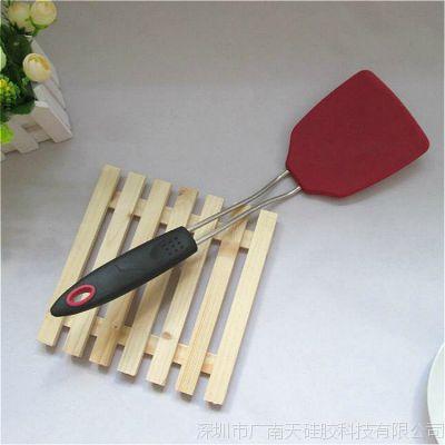 彩色硅胶烹饪勺铲 硅胶锅铲 硅胶厨具生产 耐高温
