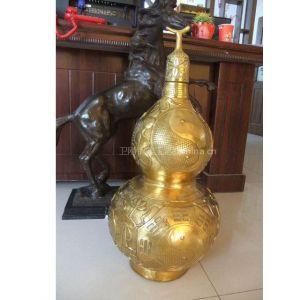 供应唐县铜雕葫芦,铸铜葫芦,铸铜工艺品厂