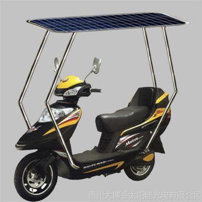 大博金48V120W单晶硅PT型太阳能电池板两轮电动车蓄电池含控制器充电板