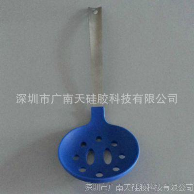 供应硅胶厨具 硅胶烹饪勺铲套件 硅胶捞篱、硅胶滤勺