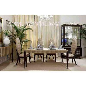 供应定做新古典家具 欧式宫廷一号餐桌椅定做工厂 欧式家具定做工厂