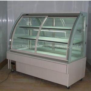 供应1.2米白色前开门圆弧蛋糕柜 保鲜冷柜保鲜柜 展示柜 冷藏柜蛋糕柜