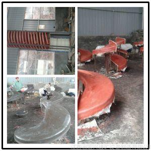 供应弯槽螺旋溜槽 多槽溜槽溜槽 螺旋溜槽选矿实物图 选煤专用