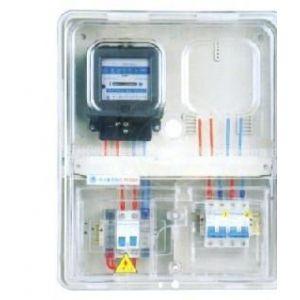 供应HR系列透明塑料电表箱(单相二位机械式)