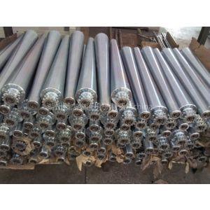 供应厂家直销镀锌锥滚,不锈钢锥滚,弯道输送机滚筒