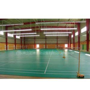 供应承接pvc 室内外网球篮球羽毛球场地 塑胶地板