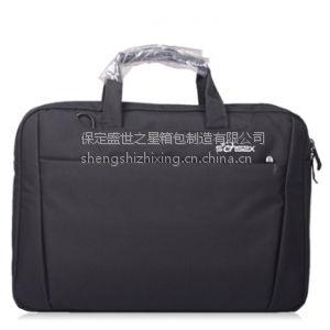 供应供应新款14寸单肩手提笔记本电脑包韩版尼龙防水简约时尚亮色系列