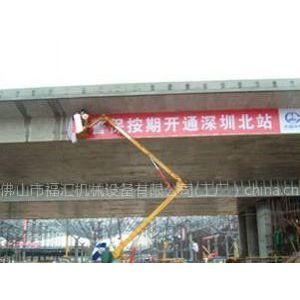 供应30米高空车高空作业出租,20米平台出租,移动式登车桥高度调节板