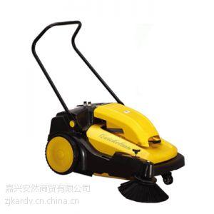 学校操场灰尘扫地机批发 灰尘石子树叶扫地机 驰洁扫地机CJS70-1