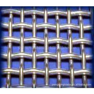 供应恒升不锈钢系列钢丝网焊接网勾花网