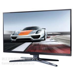 供应2013年65寸高清超薄无边框带多媒体功能LED液晶电视