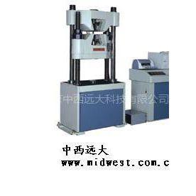 供应开口式电脑伺服油压万能材料试验机M332075