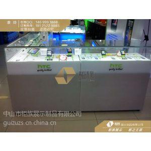供应柜族展示供应HTC手机展示柜在线订购18125229885