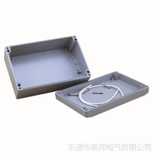 供应铸铝仪表仪器盒体 机箱铝防水壳体 200*130*80铝制接线盒体
