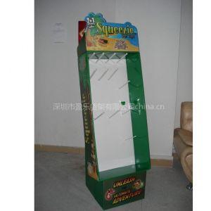 纸货架,供应礼品,工艺品纸展示架,PDQ促销盒
