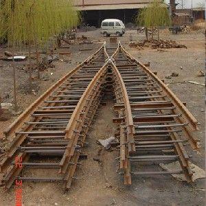供应铁路道岔林州鑫灵质量钢钢的