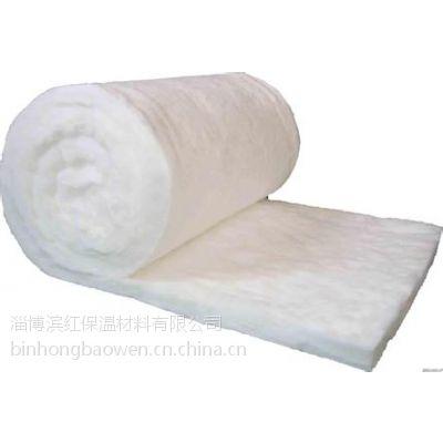 淄博滨红供应标准型硅酸铝纤维毯陶瓷纤维针刺毯