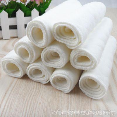 母婴用品隔尿用品三层生态棉全棉尿片宝宝尿布柔软舒适尿片45*17