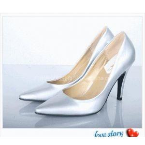 供应时尚性感真皮女式正装鞋女式单鞋高足高跟鞋性感浅口尖头细高跟漆皮单鞋2010春新款