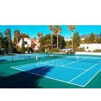 供应泉州网球场工程 泉州塑胶网球场