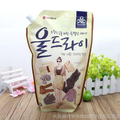 韩国进口LG中性柔软洗衣液/韩国洗衣液/LG洗衣液1300ml