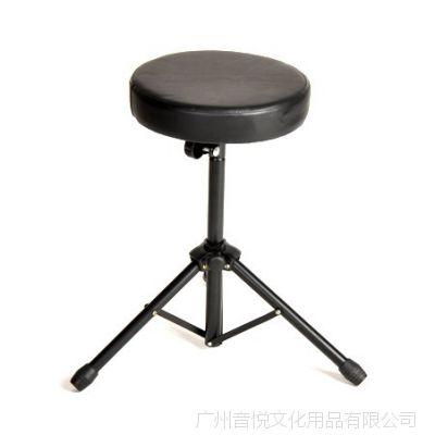 高级鼓凳架子鼓凳/圆鼓凳子 优质皮革面 演出可用 可升降乐器配件