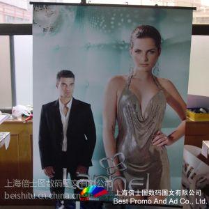 供应厂家供应直销商场促销挂画广告 户内外写真挂画 热转印广告画面