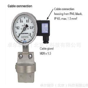 供应WIKA DPGT43.100 intelliGAUGE 不锈钢安全型电接点差压压力表