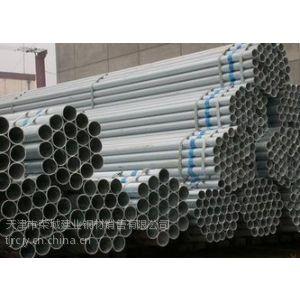 供应长期供应热镀锌钢管、镀锌钢管 保质量