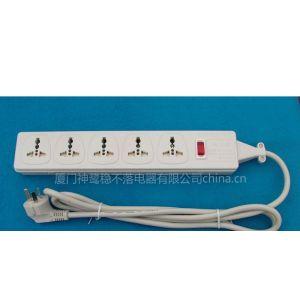 供应五位万用安全延长线转换器(WES4.5-D116)